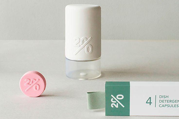 Twenty, un proyecto personal realizado por la estudiante de diseño holandesa,Mirjam de Brujin. Esto es una alternativa ecológica a los productos de hogar.