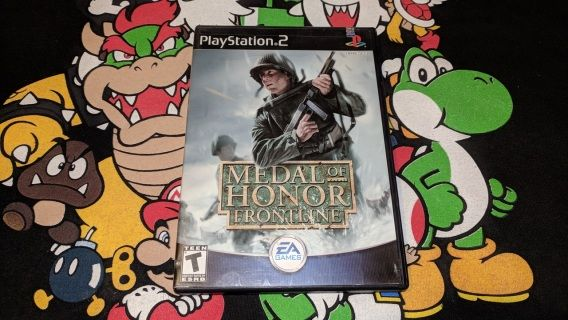 Medal Of Honor Frontline for the PlayStation 2 ( PS2 ) The game has been tested and works Great!! Disc has been cleaned and inspected. *Ships in 1-2 business days.  *VGMerch Offers a 14-day Return Policy on all pre-owned items.