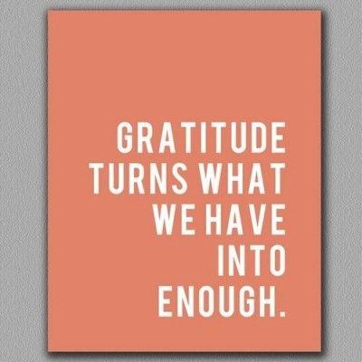 The Declaration of Gratitude (awake begins here)