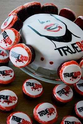 Best ideas about True Blood Cake on Pinterest | True blood, True blood ...