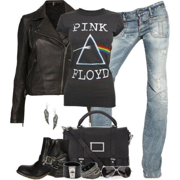 Amplified Ladies Vintage Pink Floyd Dark Side T Shirt, Charcoal
