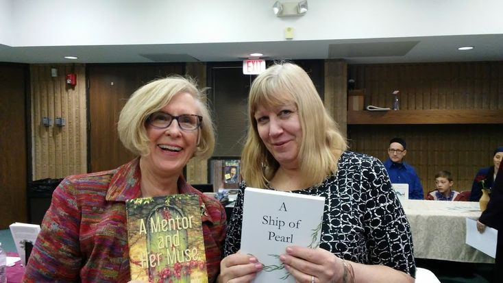 Thank you, Grand Blanc-McFarlen Library! #AMentorandHerMuse author Susan Sage had a great time meeting readers, talking with fellow authors, and connecting with local booksellers at the library's Local Authors' Showcase Saturday, April 7. #books #Michigan #events #supportlocal