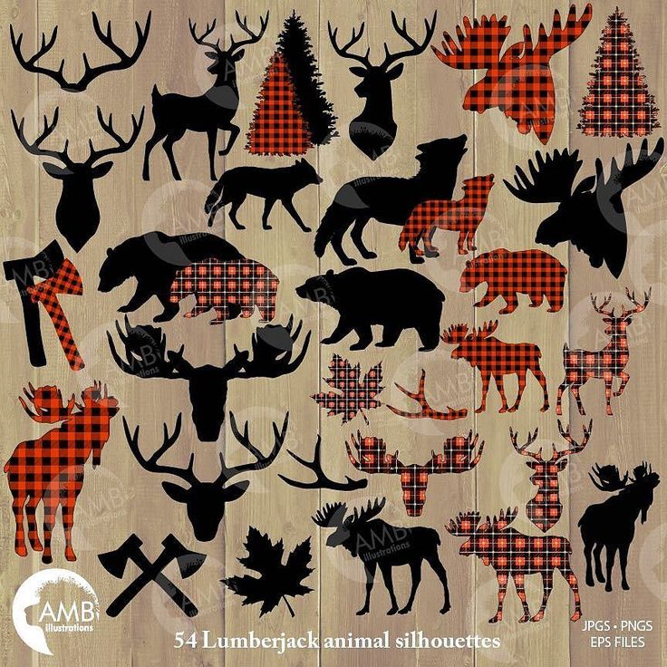 Good morning my creative friends! Here is my latest clipart pack... much awaited for... it is the matching pack that goes with my lumberjack papers I posted a few months back!  It has 54 cliparts in two different buffalo plaids and one plain black silhouette. Anyhow let me know what you think! Anne-Marie  You can find it here : http://etsy.me/2jiiU5D If you are looking for the lumberjack papers you can find them here: http://etsy.me/2B0yf5w  #lumberjack #lumberjackclipart #ambillustrations…