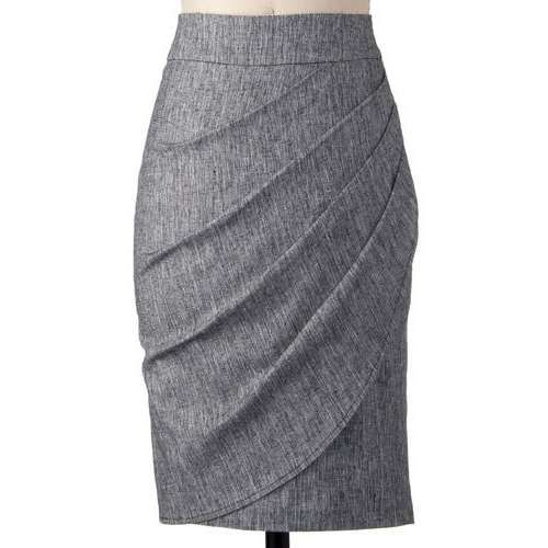 Gray pencil skirt- need one of these for work/interviews