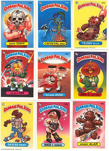 Garbage Pail Kids!!! I had a HUGE collection of these & I