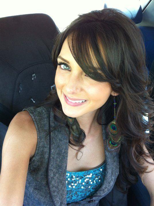 Dark Brown Hair Side Swept Bangs Hair Ideas Pinterest