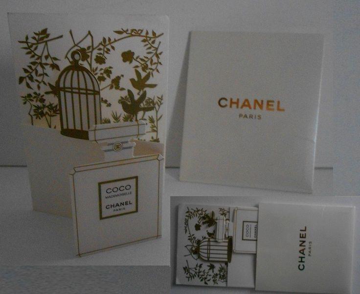 Carte Parfumée CHANEL COCO MADEMOISELLE