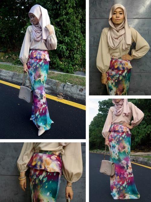 Fashion Style Hijab Kurniaone Pinterest Fashion