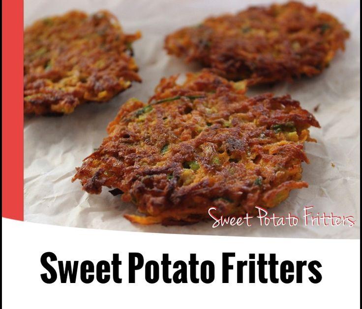 {Thermomix} Sweet Potato Fritters