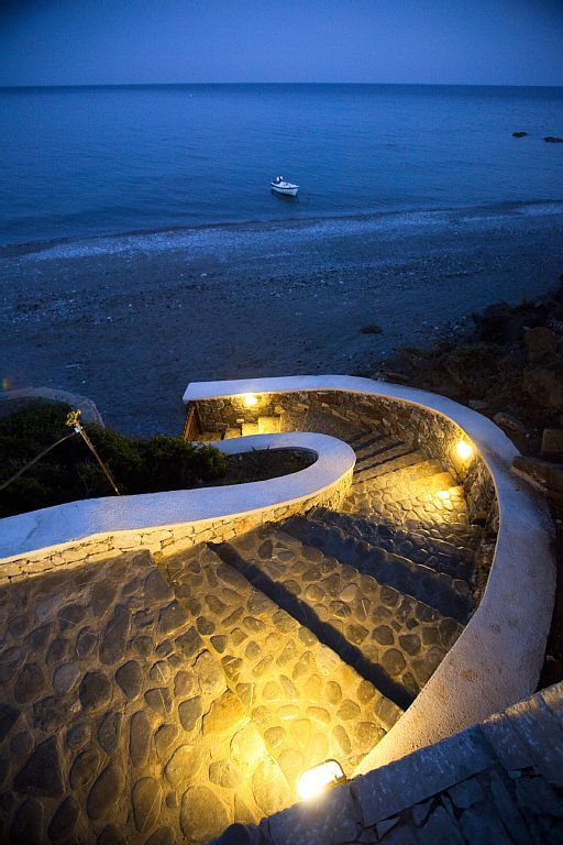 Kiotari villa rental - Kiotari Beach Villa. Luxury Waterfront House in Rhodes