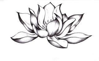 Black Lotus Tattoo idea
