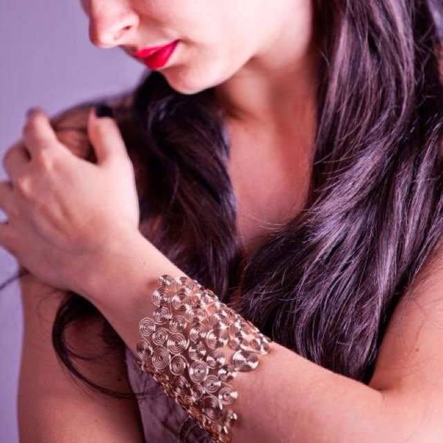 Bracelet: VAMP bijoux Model: Creatrice de rèves Photo: Edenia Lima Designer:Vittorio Ceccoli