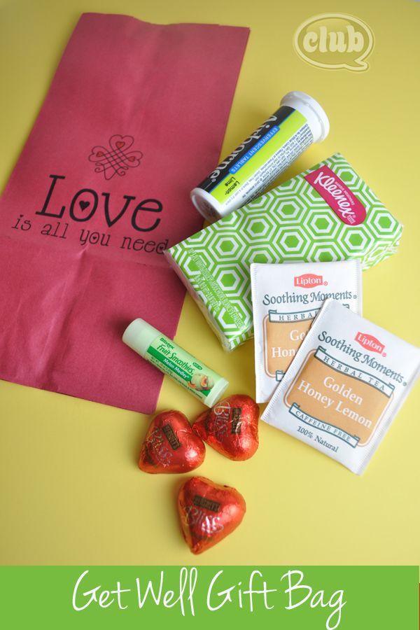Get Well Gift Bag Idea