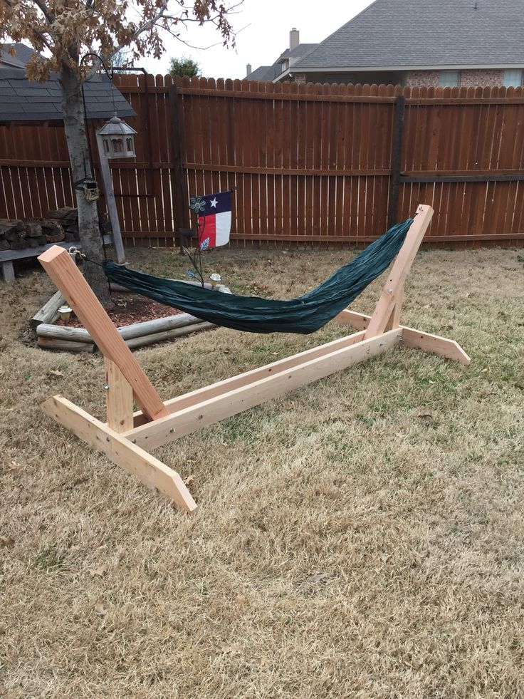 DIY Hammock Stands DIY Projects Craft Ideas