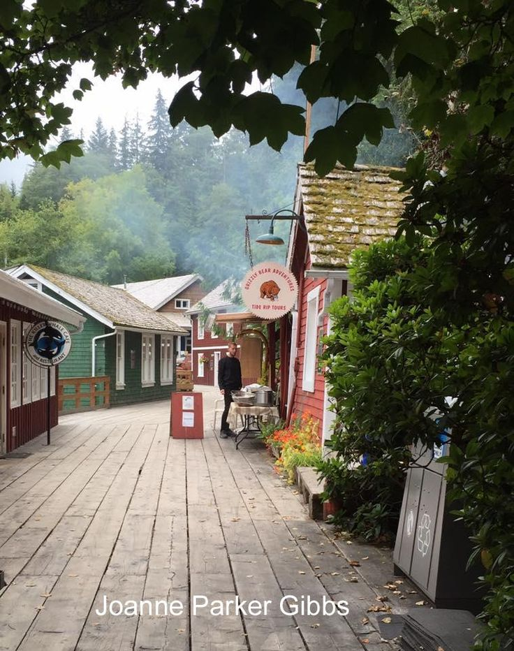 Telegraph Cove is one of the last remaining coastal boardwalk communities. Photo courtesy of Joanne Parker Gibbs. Telegraph Cove, North Island, Vancouver Island, BC