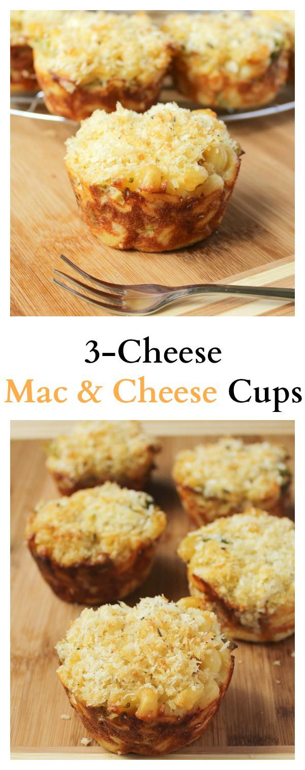 These Mac and Cheese Cups make Baked Macaroni and Cheese so easy! They're delicious, very kid friendly and take only 20 minutes of prep!