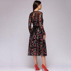 096b89ea886e Dámské květinové šaty Jytte - Pošta Zdarma