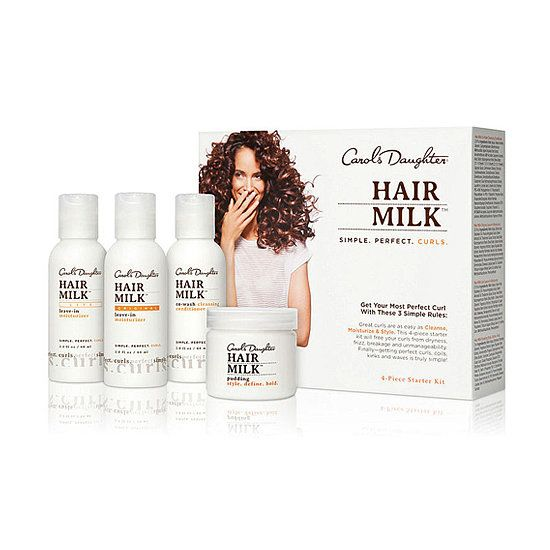 This Gift Guide Is a Curly Girl's Dream: There's nothing more exciting than discovering your new Holy Grail product. Many curly girls swear by Carol's Daughter Hair Milk, so this Starter Set ($26) will let her discover what all the talk is about.