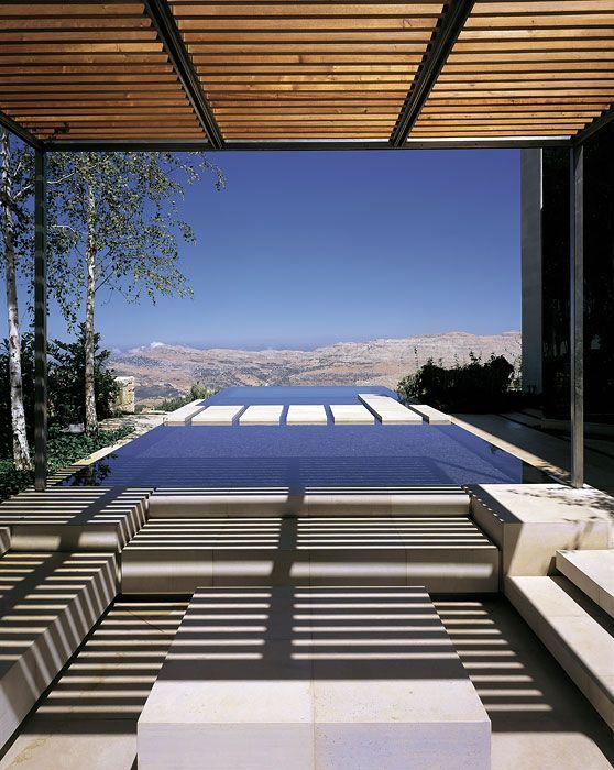 ASLA 2008 Professional Awards | Bassil Mountain Escape in Faqra, Lebanon by Vladimir Djurovic Landscape Architecture