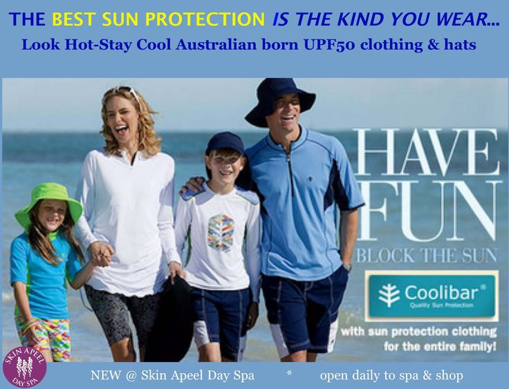 Coolibar UPF 50 clothing looks summer hot, yet keeps it's cool. We know our skin can't block the sun's damaging rays without a sunscreen. On the same note, regular clothing can't protect us like SPF wear can. Melanoma's on a scary all time high… And we live...