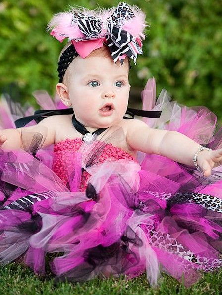 Lil' Miss Diva Couture Baby Crochet Tutu Dress-