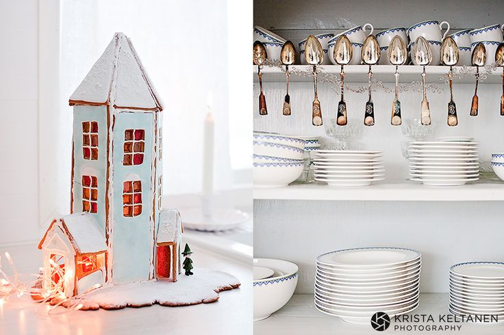 1000+ images about Christmas Houses & Villages on ...