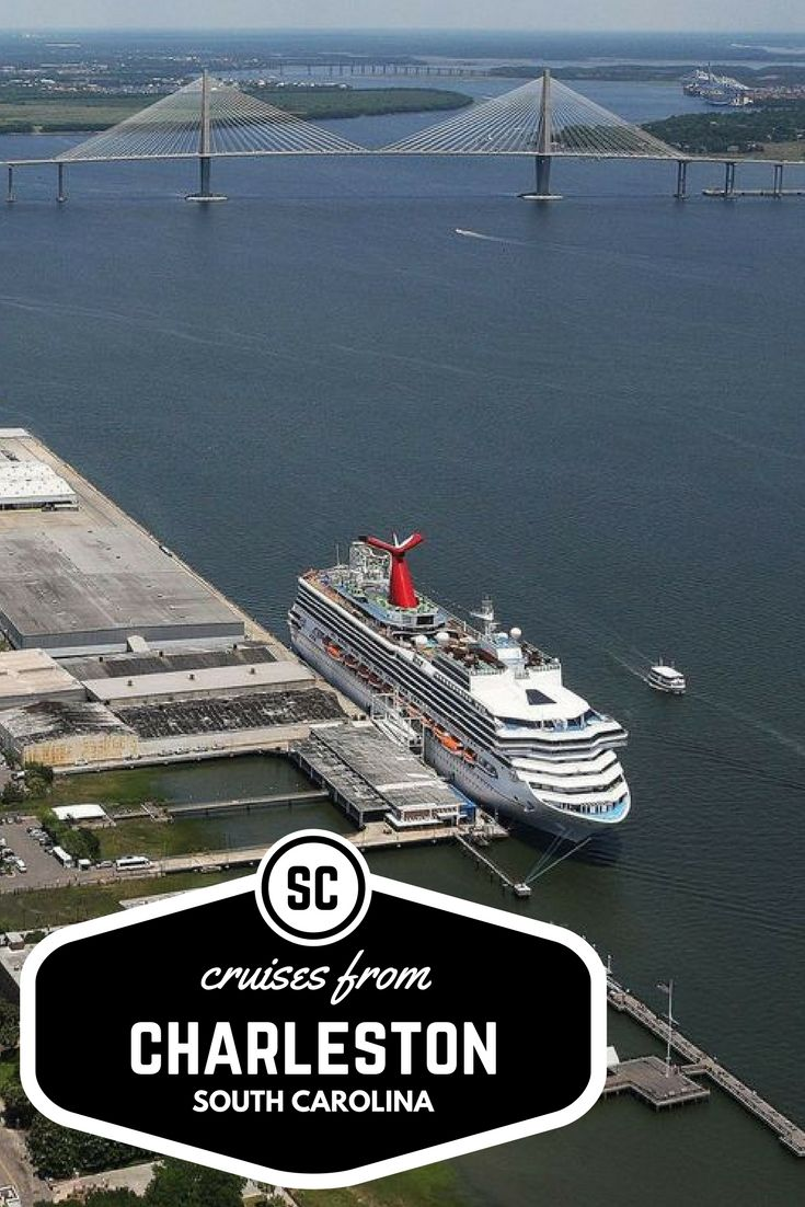Cruises from Charleston SC. The complete calendar of cruises leaving from Charleston. Departing out of South Carolina is easy and convenient.