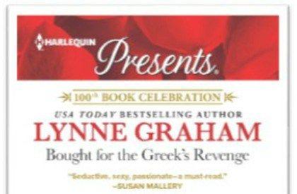 #Giveaway Excerpt  BOUGHT FOR THE GREEK'S REVENGE by Lynne Graham @lynne__graham @HarlequinBooks  6.14