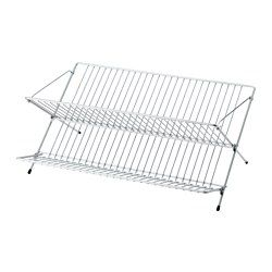 IKEA - KVOT, Dish drainer, Can be folded up to save space.