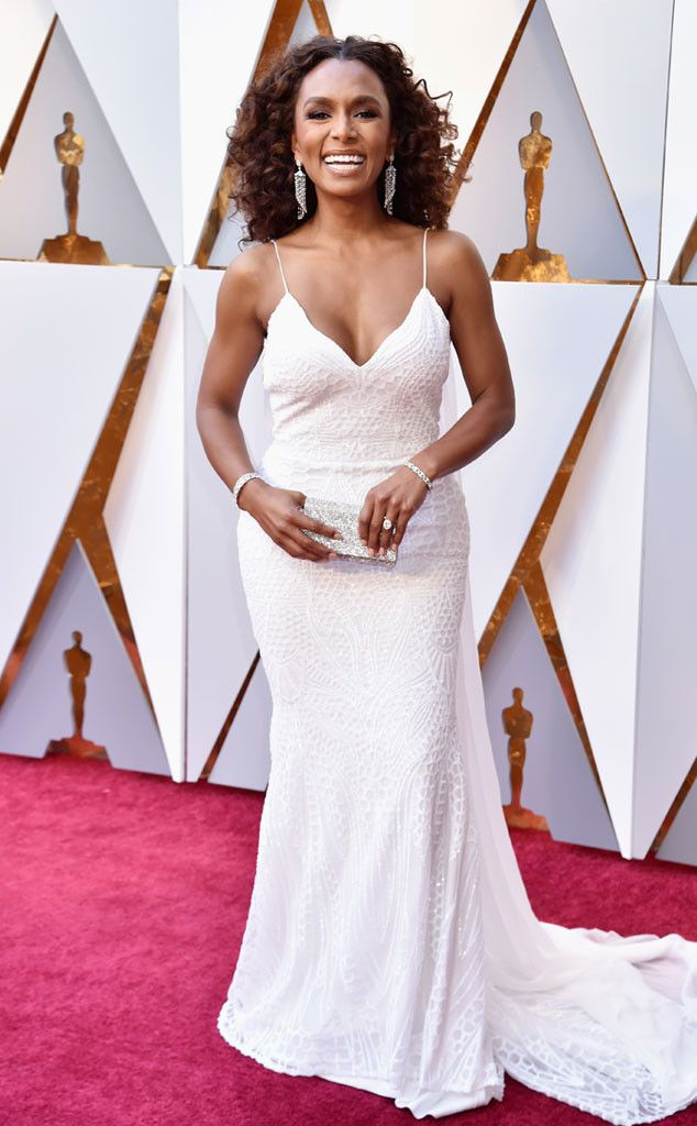 Janet Mock from 2018 Oscars Red Carpet Fashion | E! News