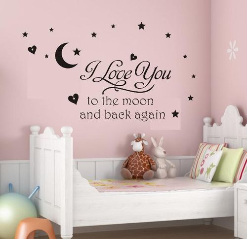 cute quotes for bedroom wall stikers for nursery