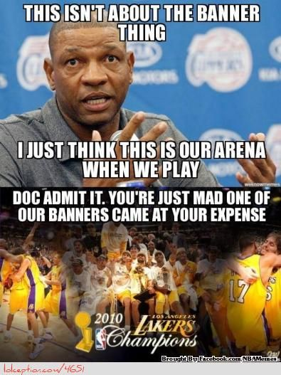 Doc Rivers on the recent banners change? - http://weheartnyknicks.com/nba-funny-meme/doc-rivers-on-the-recent-banners-change