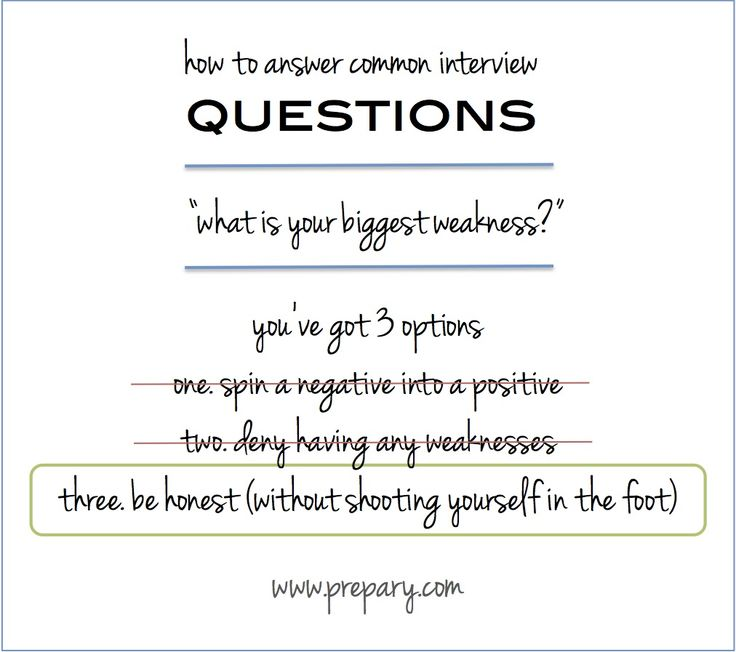what is your biggest weakness.. And how to answer that question in your interview session