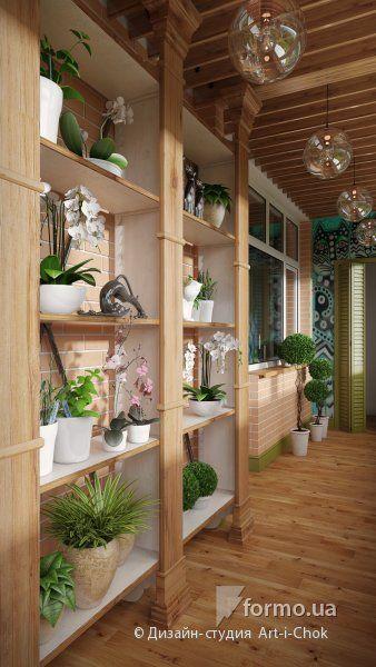 Характер дома кроется в мелочах, Дизайн-студия  Art-i-Chok  , Лоджия/Балкон, Дизайн интерьеров Formo.ua