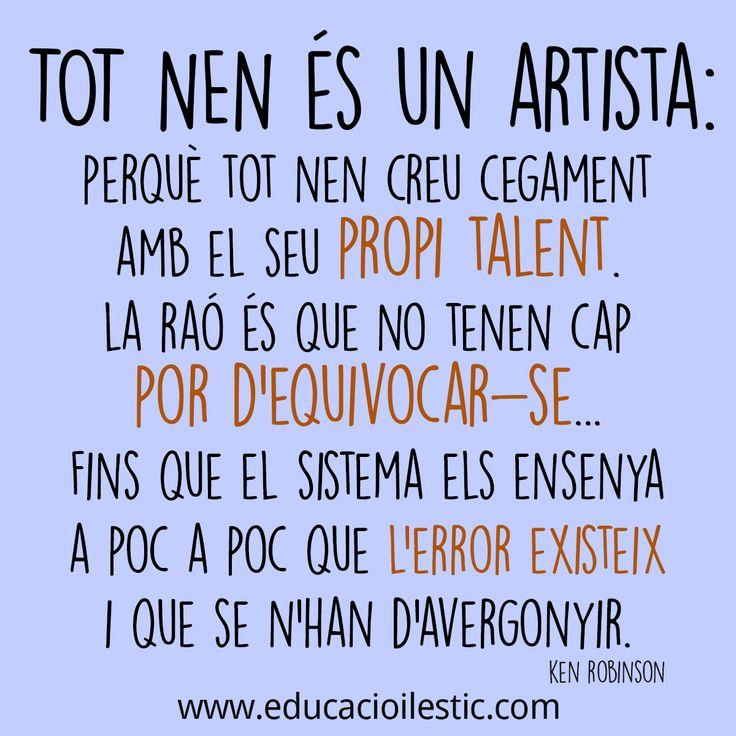 Deixem que els nens siguin artistes!