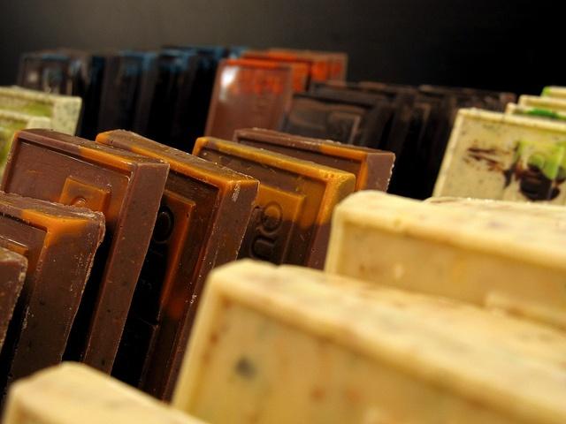 Lingotes de Chocolate en Que bo! México DF