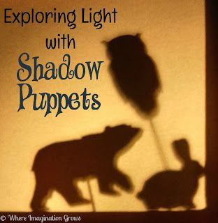 DIY Shadow Puppets from Where Imagination Grows