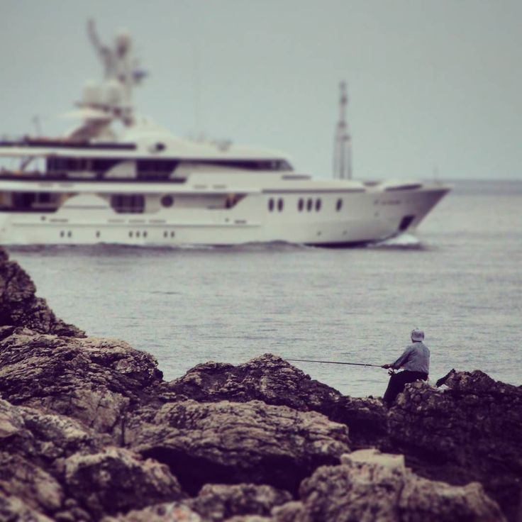 #fisherman #yacht #sea #croatia #dubrovnik #rocks #greatview by michal.wasiluk | dubrovnik-croatia.com