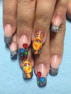 jirafas en uñas - Buscar con Google