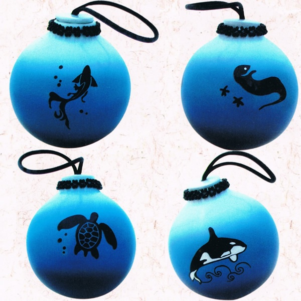 Water Totem Pottery Ball [PBT12] - $14.40 :