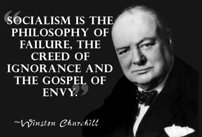 Do you agree with Winston Churchill on this one point?