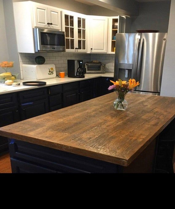 Butcher Block Kitchen Island Table 20 X 30 X 36 High With Drawer And Resting Shelf Cu Handcrafted Table Butcher Block Island Kitchen Kitchen Island Table