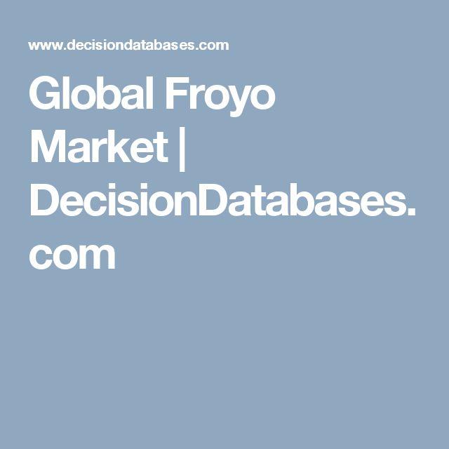 Global Froyo Market | DecisionDatabases.com