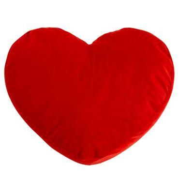 Coussin en forme de coeur