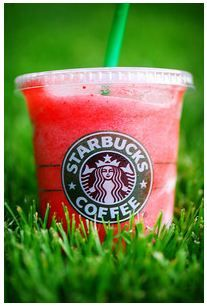 STRAWBERRY LEMONADE!! Looking for something refreshing but not in the mood for coffee? Try Starbuck's Strawberry Lemonade. It's not on the menu, but is available for order.    It's a lovely pink strawberry lemonade slush that won't leave you disappointed.