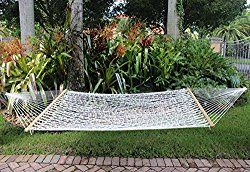 59″ Rope Hammock – Soft Cotton Rope Hammock Hammaca For Two Outdoors indoors camping