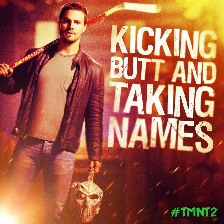 Meet Casey Jones, the newest member of the crew. #TMNT2 #CaseyJones