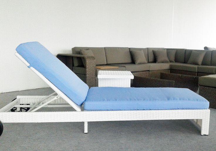 Sun - meble ogrodowe z technorattanu leżak ogrodowy - Twoja Siesta