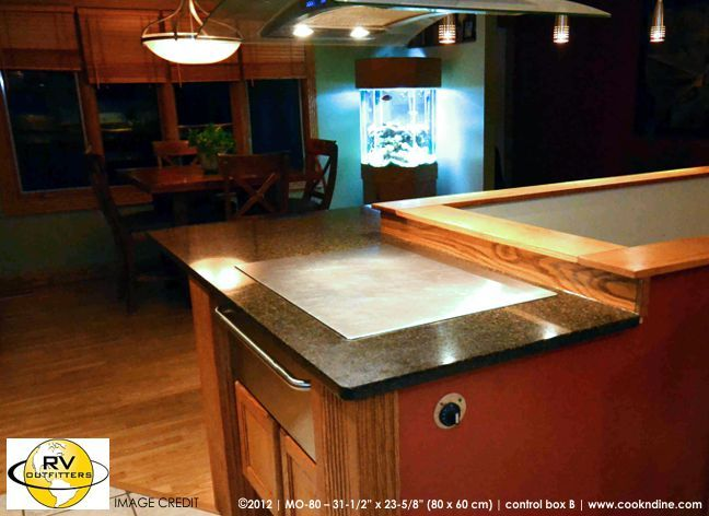 Teppanyaki Style Flat Cooktops Equipped With Sleek Built