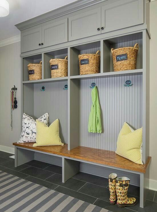 Recess into studs to save space